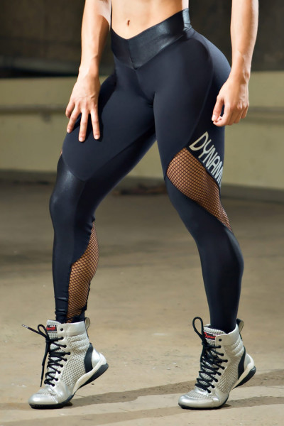 Dynamite Black Crystal Legging